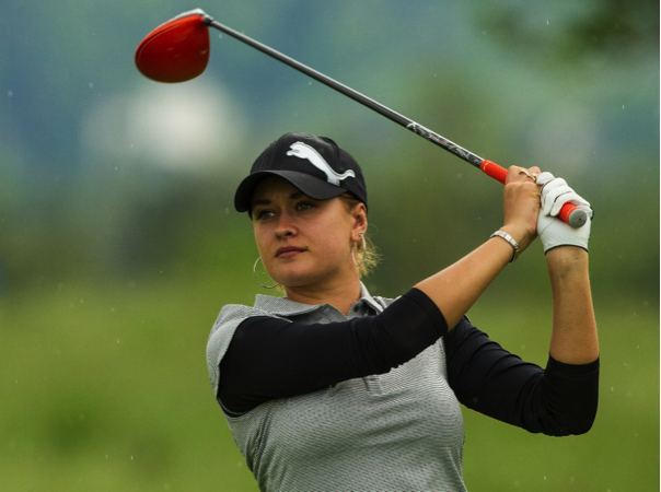 (Amy Boulden – European Tour star has worked with Jeremy for 7 years)