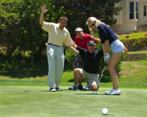 Corporate golf image
