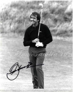 Severiano Ballesteros – partnered and coached